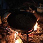 Mat smakar bäst om den tillagas över öppen eld