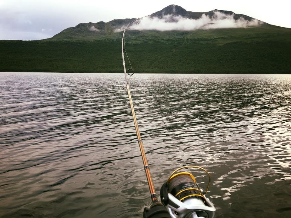 Riktigt fiske i Norrland, bokningsbart paket med all utrustning